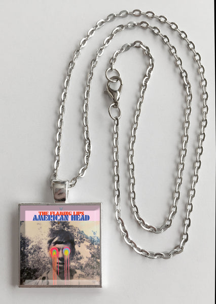 The Flaming Lips - American Head - Album Cover Art Pendant Necklace