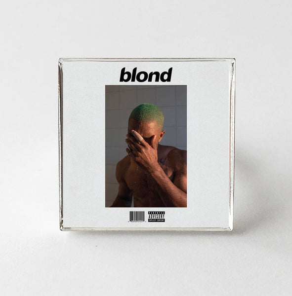 Frank Ocean - Blonde - Album Cover Art Adjustable Ring - Hollee