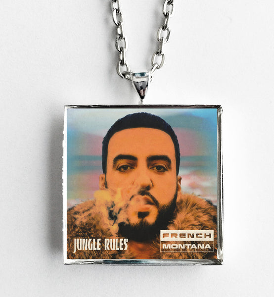 French Montana - Jungle Rules - Album Cover Art Pendant Necklace - Hollee