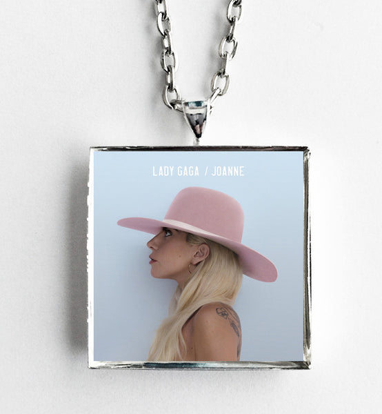 Lady Gaga - Joanne - Album Cover Art Pendant Necklace - Hollee