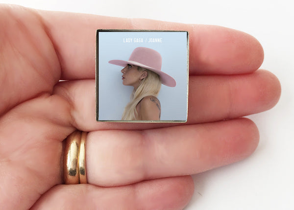 Lady Gaga - Joanne - Album Cover Art Pin - Hollee