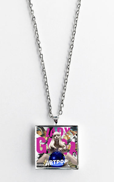 Lady Gaga - Artpop - Album Cover Art Pendant Necklace - Hollee