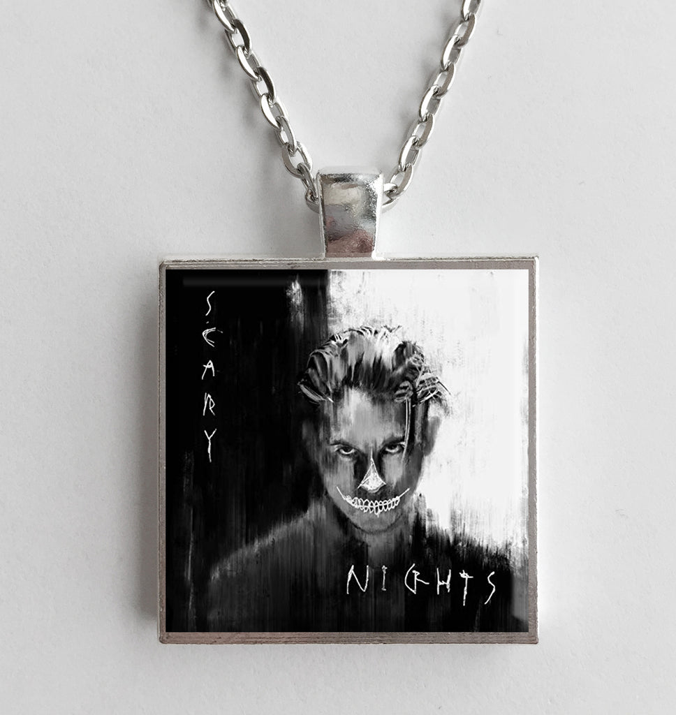 G-Eazy - Scary Nights - Album Cover Art Pendant Necklace - Hollee