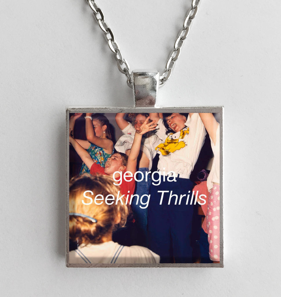 Georgia - Seeking Thrills - Album Cover Art Pendant Necklace - Hollee