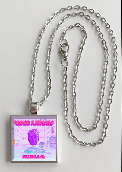 Glass Animals - Dreamland - Album Cover Art Pendant Necklace - Hollee