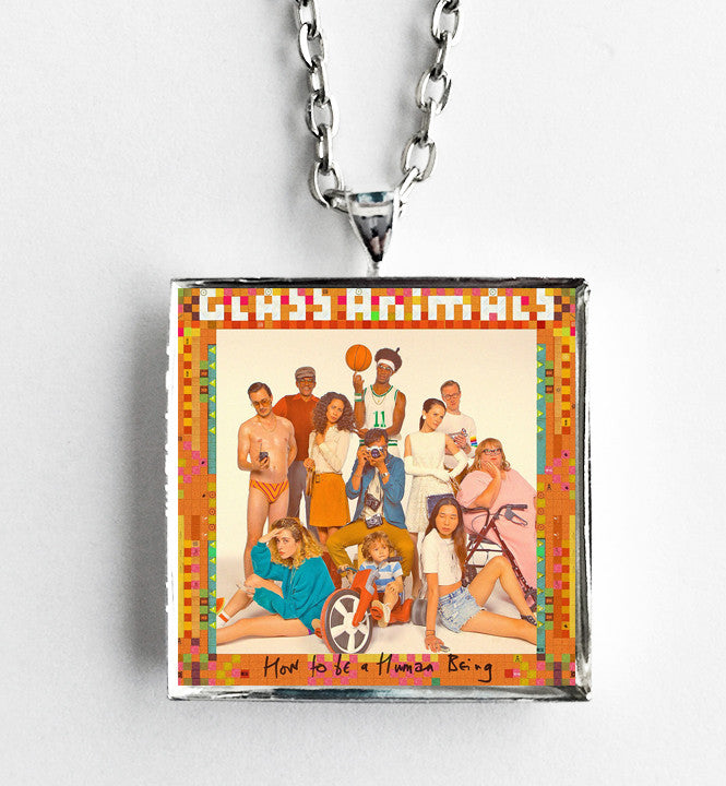 Glass Animals - How to Be a Human Being - Album Cover Art Pendant Necklace - Hollee
