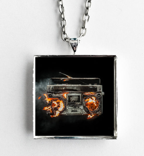Green Day - Revolution Radio - Album Cover Art Pendant Necklace - Hollee