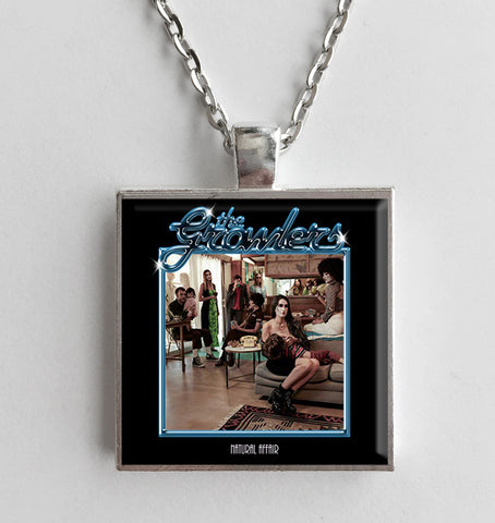 The Growlers - Natural Affair - Album Cover Art Pendant Necklace - Hollee