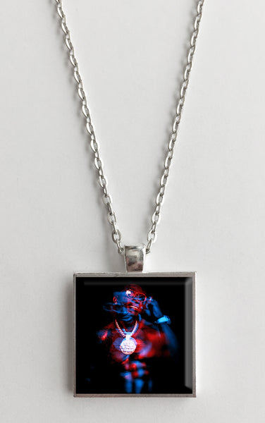 Gucci Mane - Evil Genius - Album Cover Art Pendant Necklace
