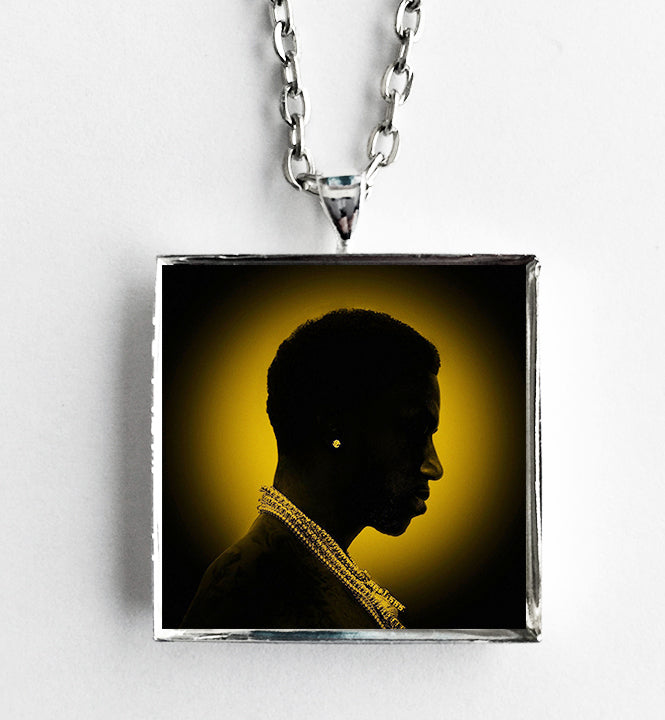 Gucci Mane - Mr.Davis - Album Cover Art Pendant Necklace - Hollee