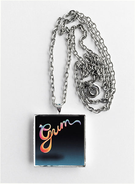 Gum - Flash in the Pan - Album Cover Art Pendant Necklace - Hollee