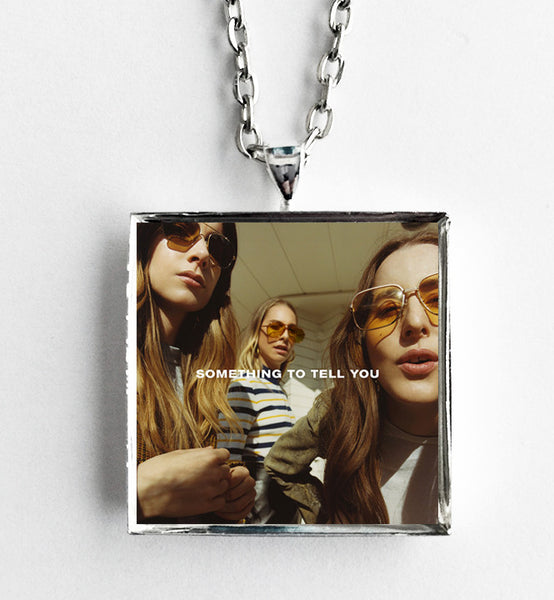 Haim - Something to Tell You - Album Cover Art Pendant Necklace - Hollee