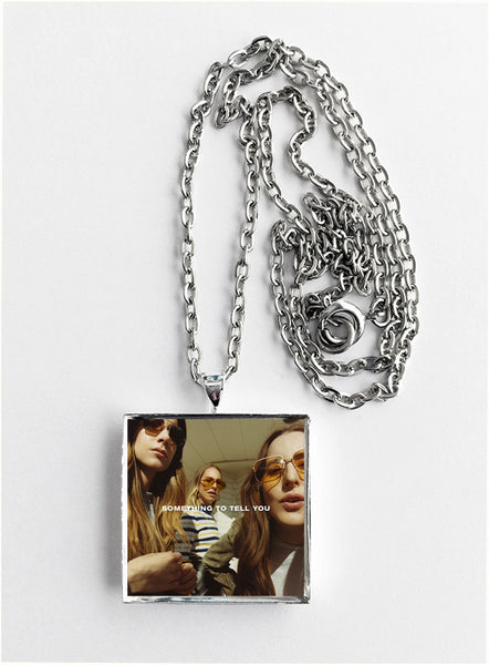 Haim - Something to Tell You - Album Cover Art Pendant Necklace