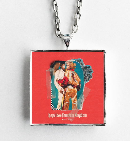 Halsey - Hopeless Fountain Kingdom - Album Cover Art Pendant Necklace - Hollee