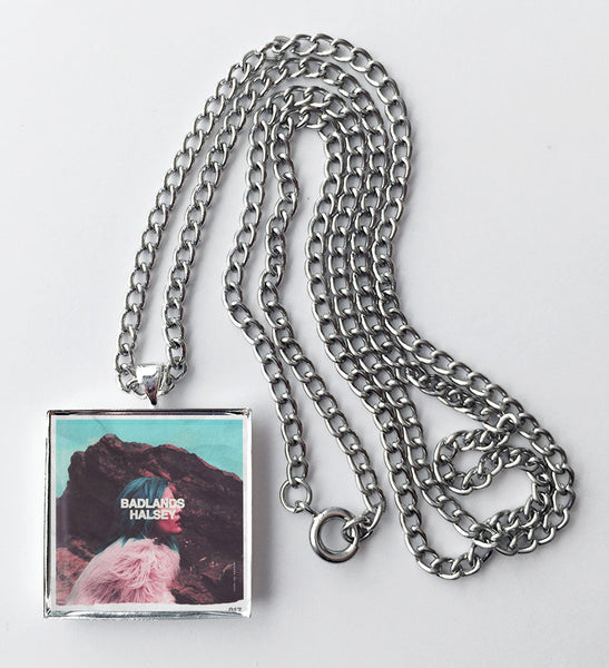 Halsey - Badlands - Album Cover Art Pendant Necklace - Hollee