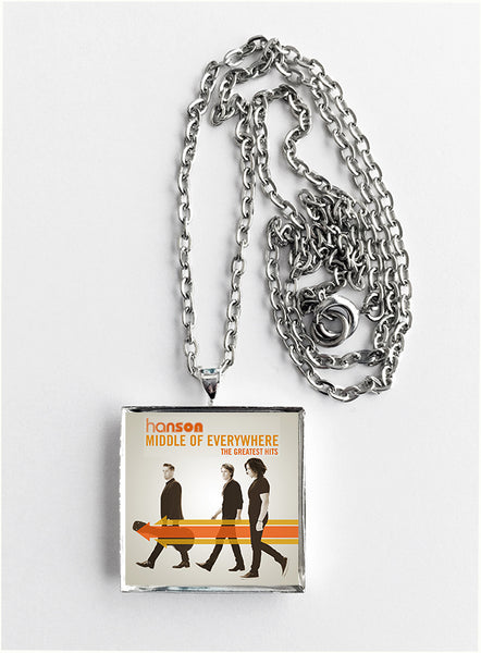 Hanson - Middle of Everywhere - Album Cover Art Pendant Necklace - Hollee