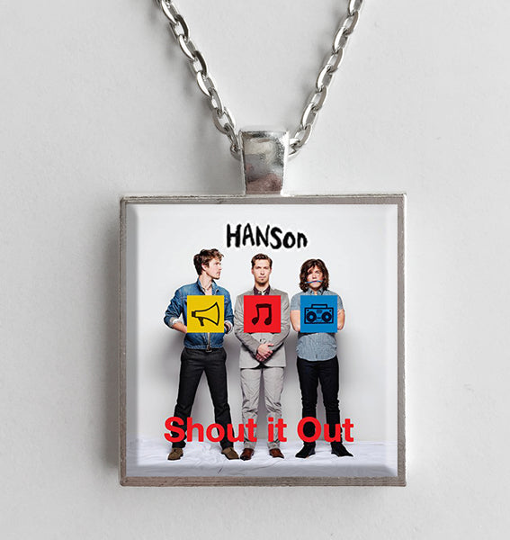 Hanson - Shout It Out - Album Cover Art Pendant Necklace - Hollee