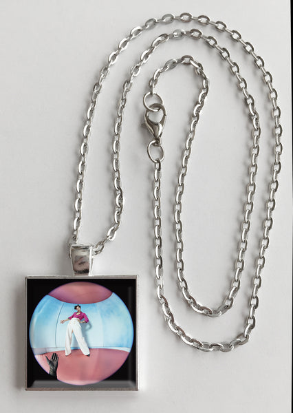 Harry Styles - Fine Line - Album Cover Art Pendant Necklace - Hollee