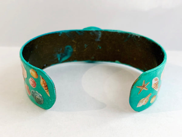 Aloha Hula Hawaii Beach Bangle Bracelet