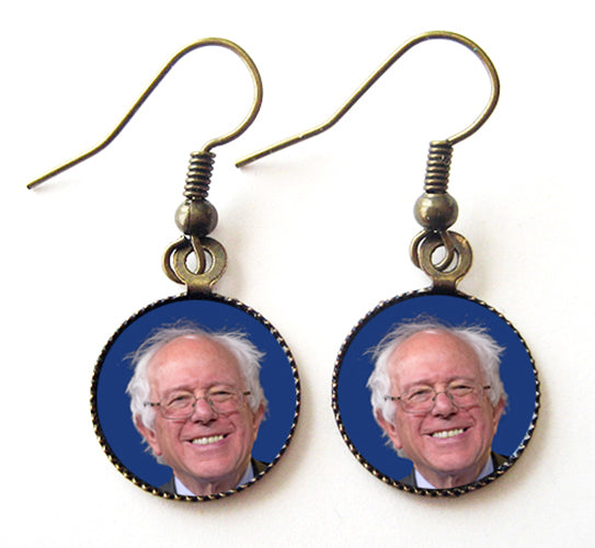 Bernie Sanders for President Campaign Earrings - Hollee