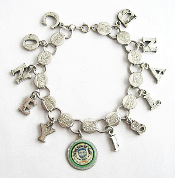 Coney Island Brooklyn Steeplechase Tillie Souvenir Charm Bracelet - Hollee