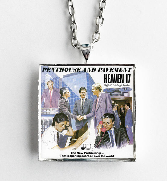 Heaven 17 - Penthouse and Pavement - Album Cover Art Pendant Necklace - Hollee
