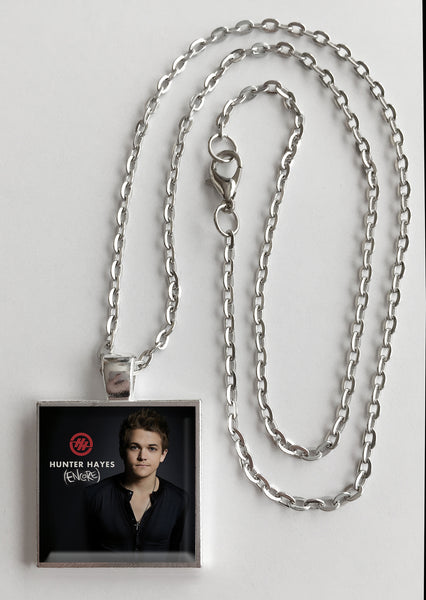 Hunter Hayes - Encore - Album Cover Art Pendant Necklace - Hollee