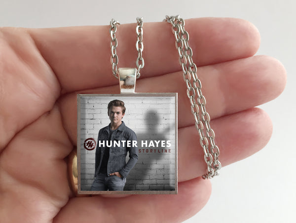 Hunter Hayes - Storyline - Album Cover Art Pendant Necklace - Hollee