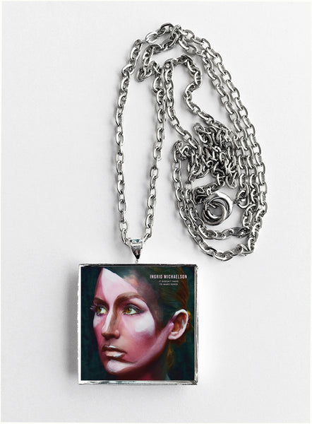Ingrid Michaelson - It Doesn't Have to Make Sense - Album Cover Art Pendant Necklace