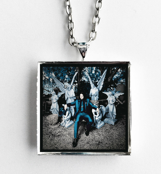 Jack White - Lazaretto - Album Cover Art Pendant Necklace - Hollee