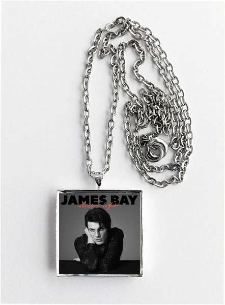 James Bay - Electric Light - Album Cover Art Pendant Necklace - Hollee