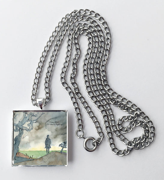 James Blake - The Colour in Anything - Album Cover Art Pendant Necklace