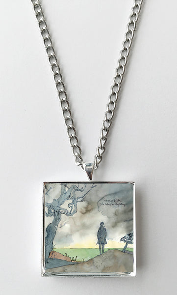 James Blake - The Colour in Anything - Album Cover Art Pendant Necklace - Hollee