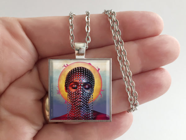 Janelle Monae - Dirty Computer - Album Cover Art Pendant Necklace - Hollee