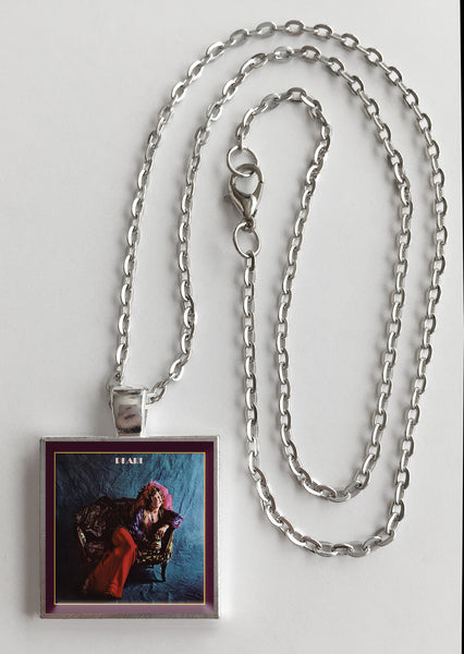 Janis Joplin - Pearl - Album Cover Art Pendant Necklace - Hollee