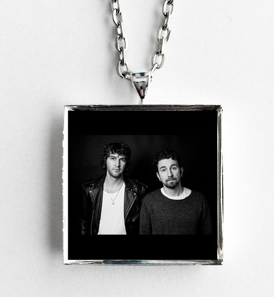 Japandroids - Near to the Wild Heart of Life - Album Cover Art Pendant Necklace - Hollee