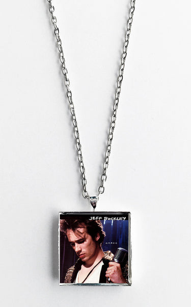 Jeff Buckley - Grace - Album Cover Art Pendant Necklace - Hollee