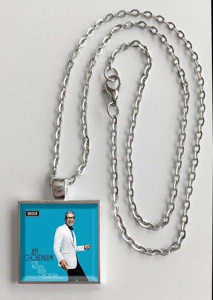 Jeff Goldblum - Capitol Studios Sessions - Album Cover Art Pendant Necklace - Hollee