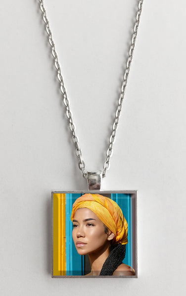 Jhene Aiko - Chilombo - Album Cover Art Pendant Necklace - Hollee