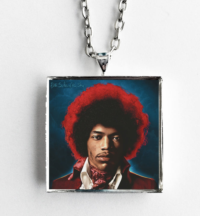 Jimi Hendrix - Both Sides of the Sky - Album Cover Art Pendant Necklace - Hollee