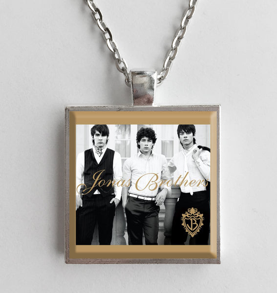 Jonas Brothers - Self Titled - Album Cover Art Pendant Necklace - Hollee