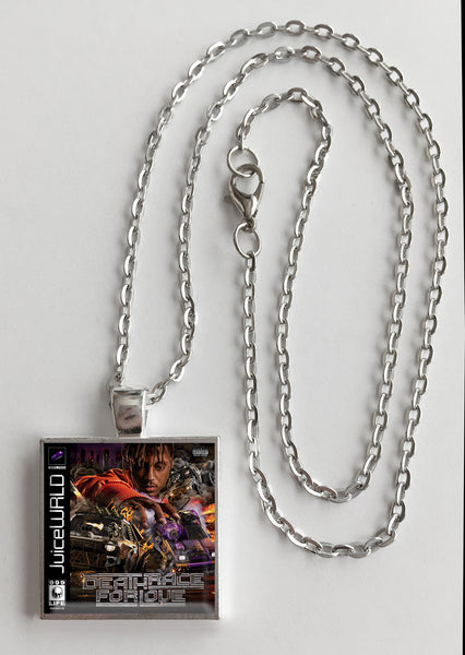 Juice WRLD - Death Race for Love - Album Cover Art Pendant Necklace - Hollee