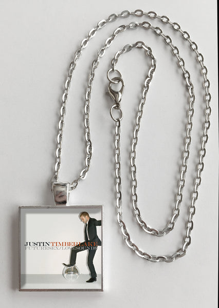 Justin Timberlake - FutureSex/LoveSounds - Album Cover Art Pendant Necklace - Hollee