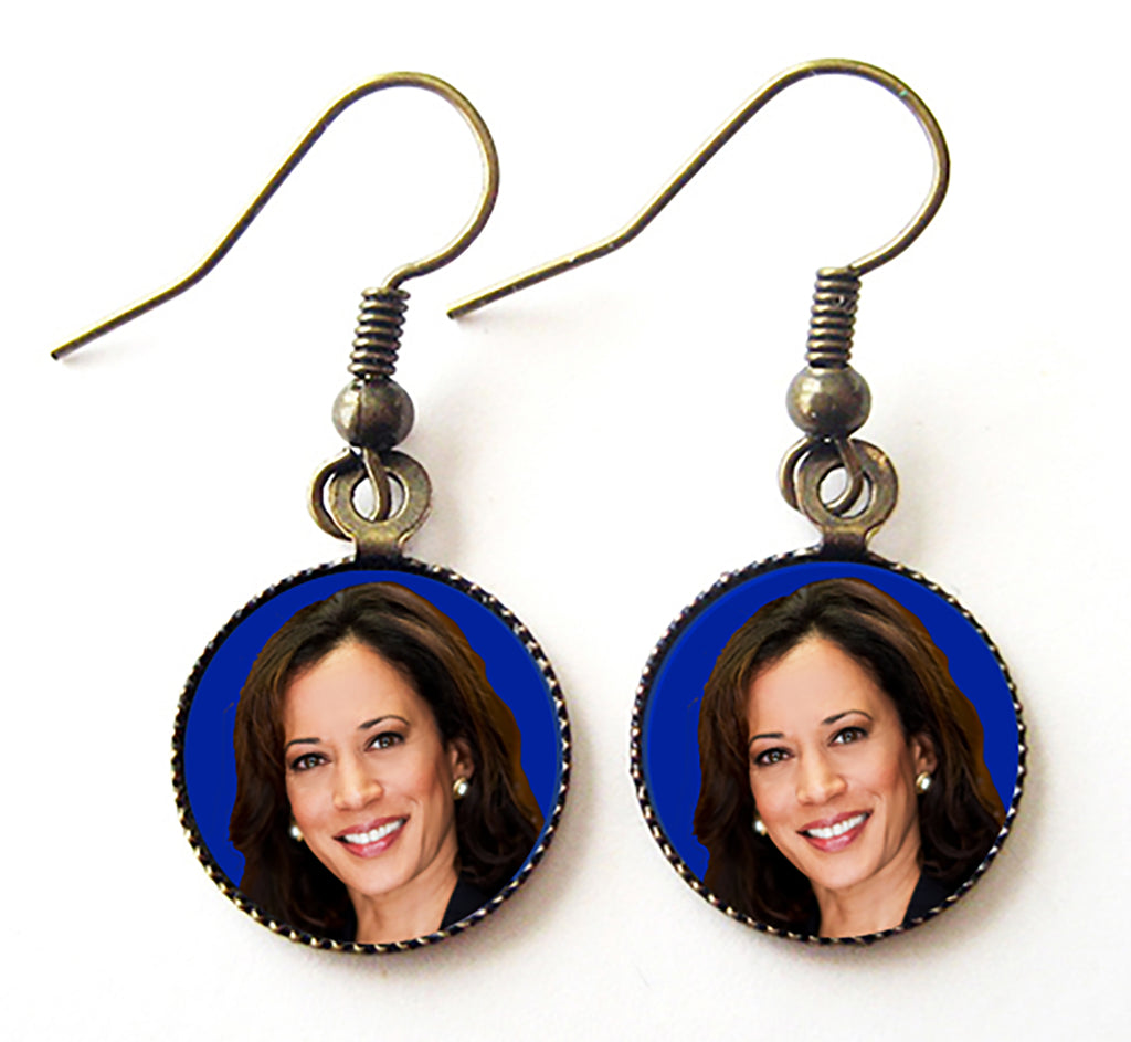 Kamala Harris for President Campaign Earrings - Hollee