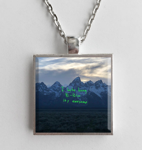 Kanye West - ye - Album Cover Art Pendant Necklace - Hollee
