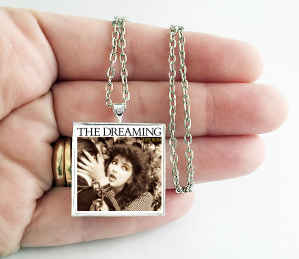 Kate Bush - The Dreaming - Album Cover Art Pendant Necklace - Hollee