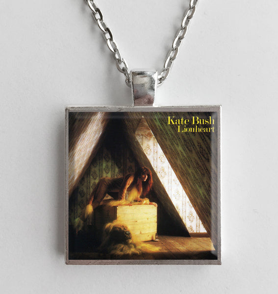 Kate Bush - Lionheart - Album Cover Art Pendant Necklace - Hollee