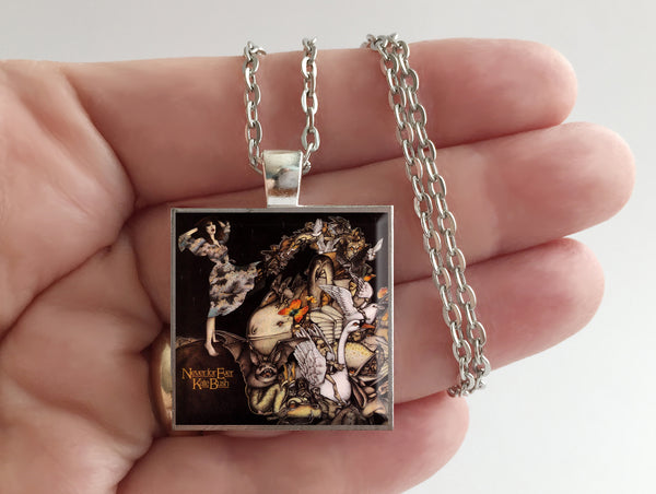 Kate Bush - Never for Ever - Album Cover Art Pendant Necklace - Hollee
