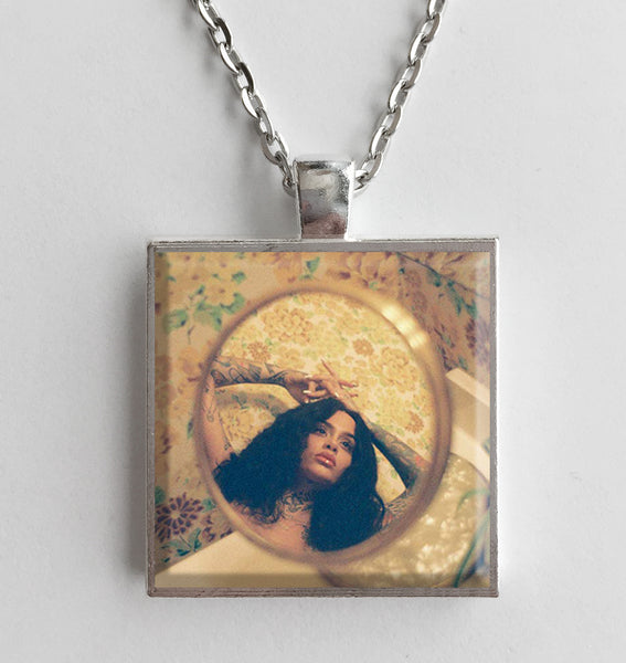 Kehlani - While We Wait - Album Cover Art Pendant Necklace - Hollee