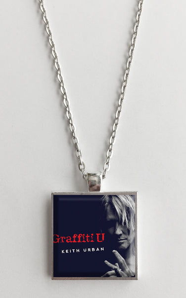 Keith Urban - Graffiti U - Album Cover Art Pendant Necklace - Hollee